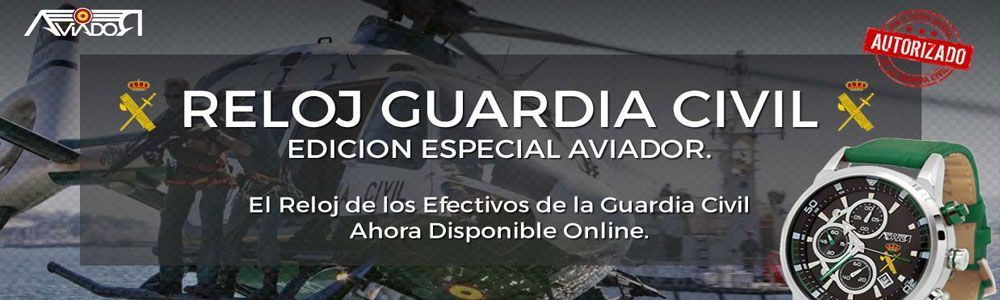 relojes guardia civil