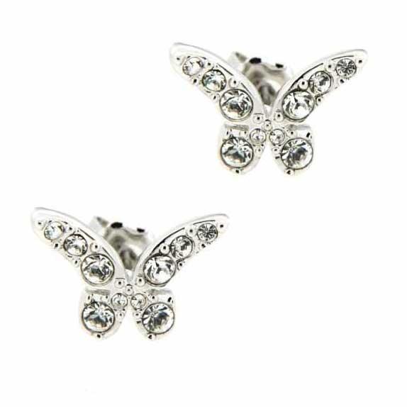 pendientes mariposa guess