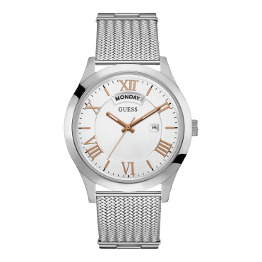 guess_iconic_stainless_steel_men_s_watch_with_silver_mesh_band_w0923g1_